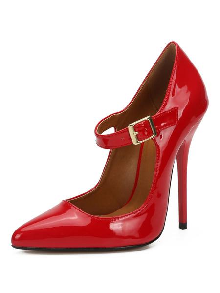 Milanoo Black High Heels Women Pointed Toe Stiletto Heel Sexy Shoes