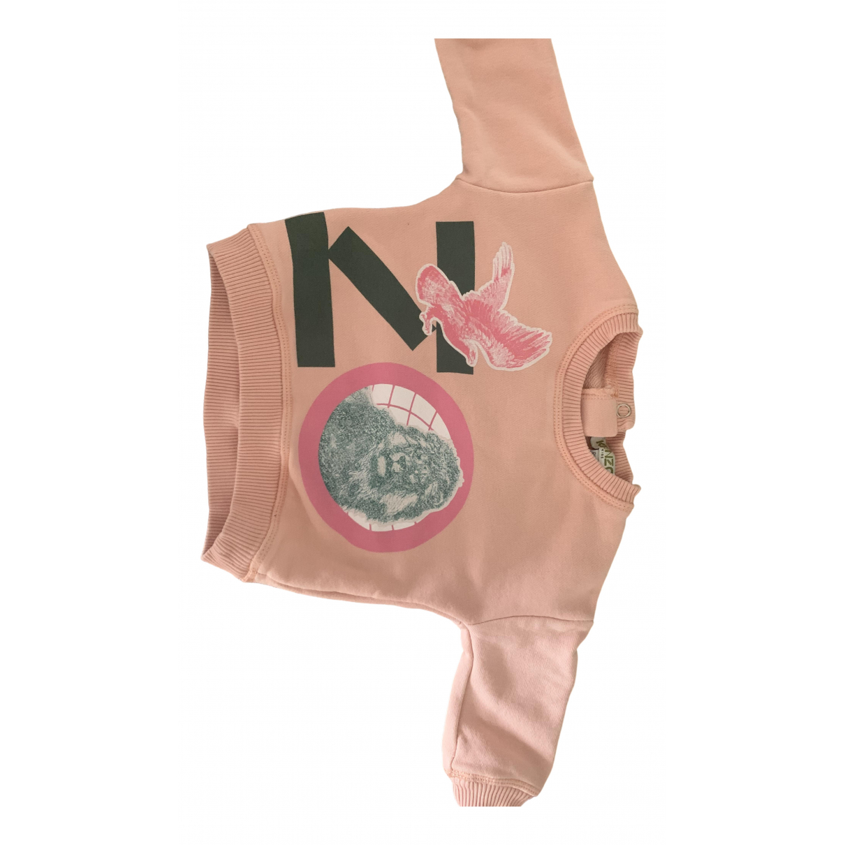 Kenzo \N Pink Cotton Knitwear for Kids 6 months - up to 67cm FR
