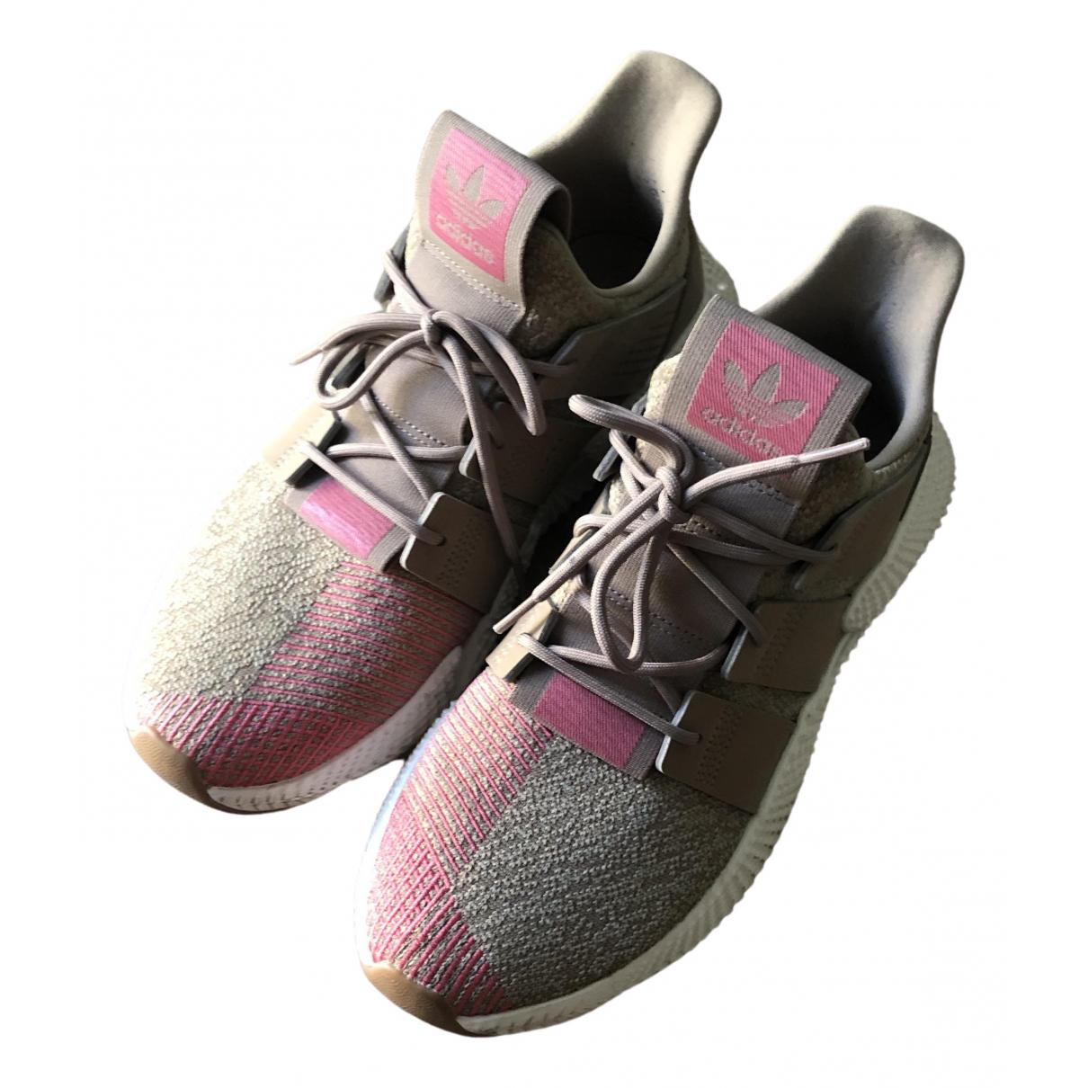 Adidas - Baskets   pour homme en autre - beige