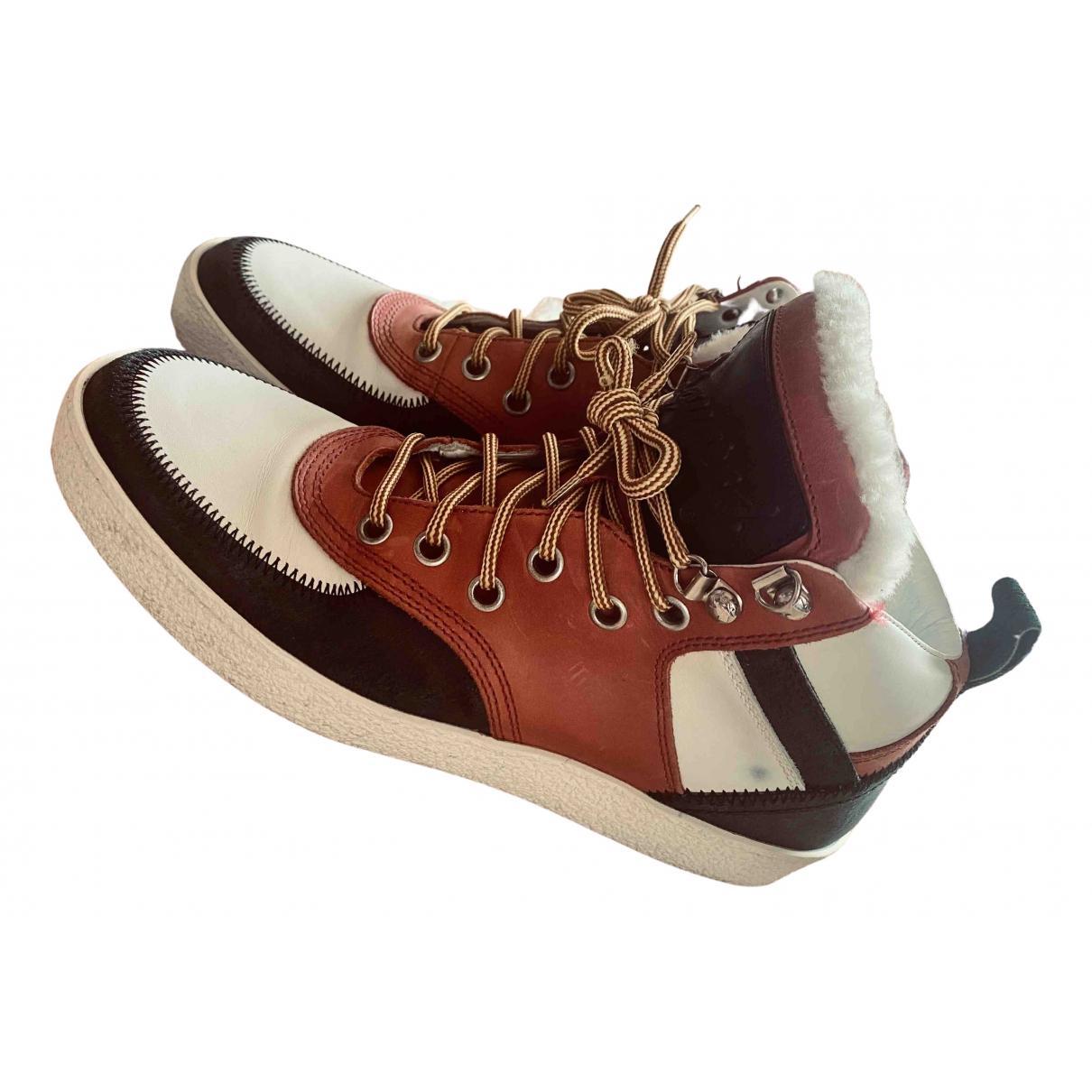 Dsquared2 - Baskets   pour homme en cuir - multicolore
