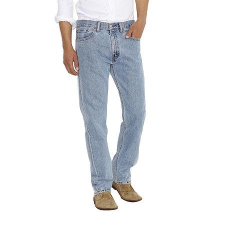 Levi's Mens 505 Straight Regular Fit Jean, 42 30, Blue