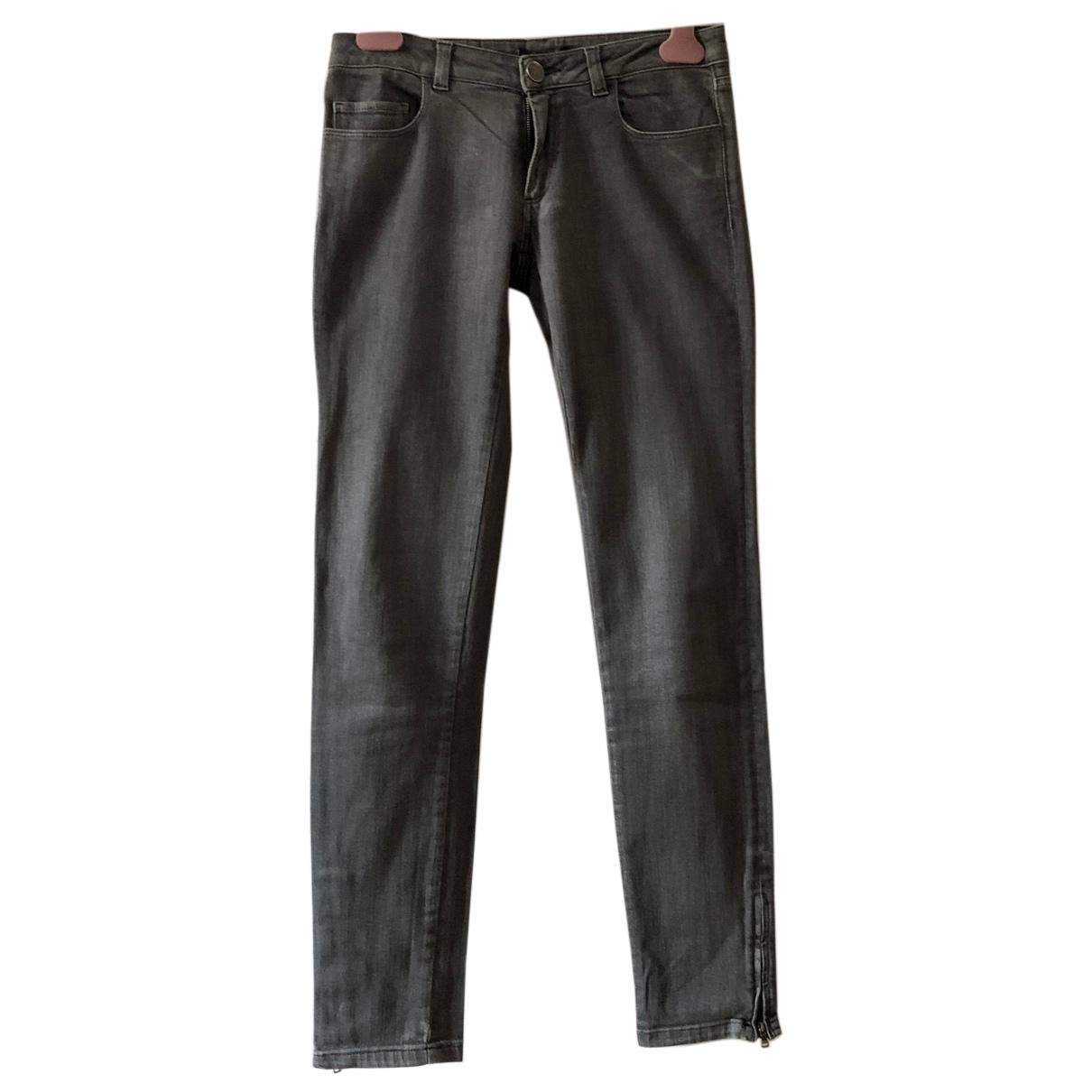 Max & Co - Pantalon   pour femme en coton - gris