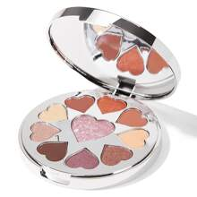 The SHIMMER HEART Eyeshadow Palette-CORAL