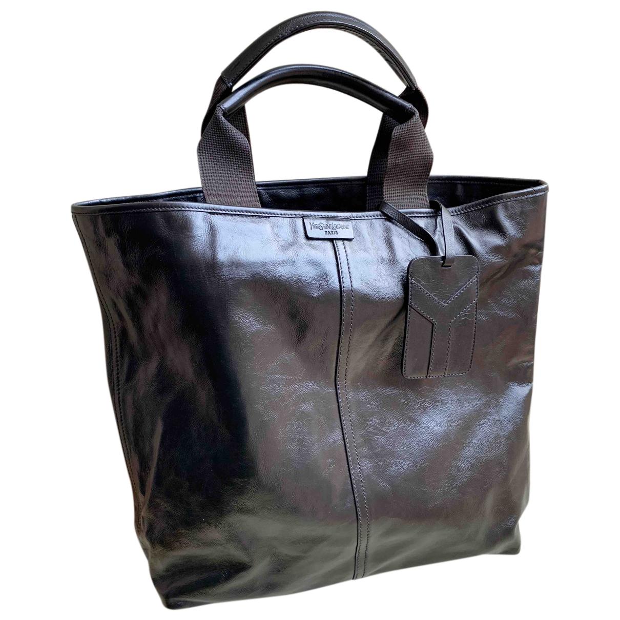 Yves Saint Laurent N Brown Leather handbag for Women N