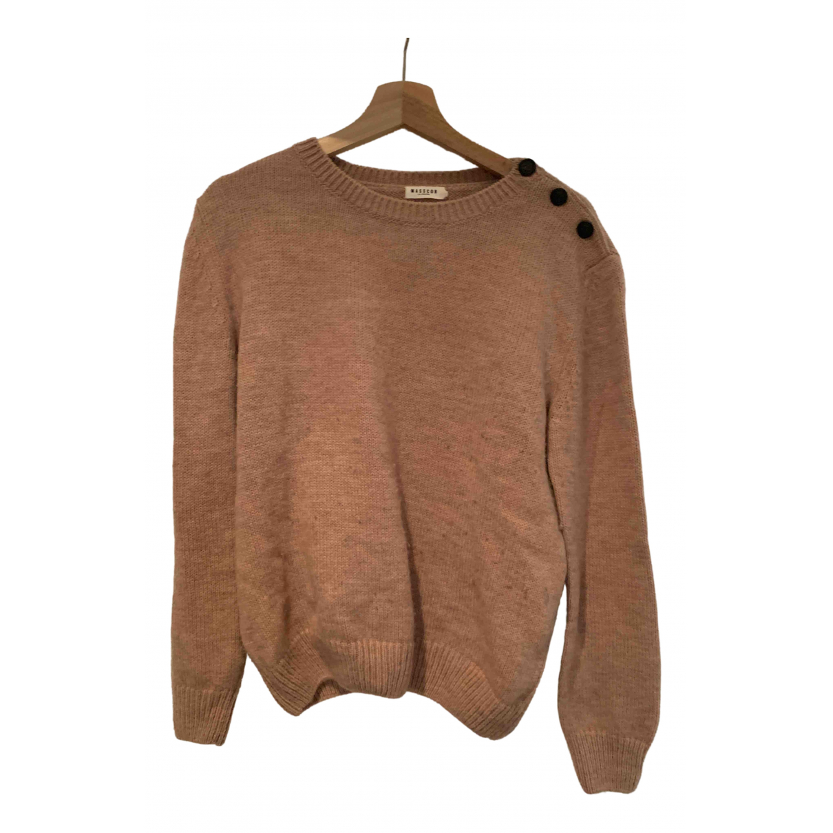 Masscob \N Pullover in  Rosa Wolle