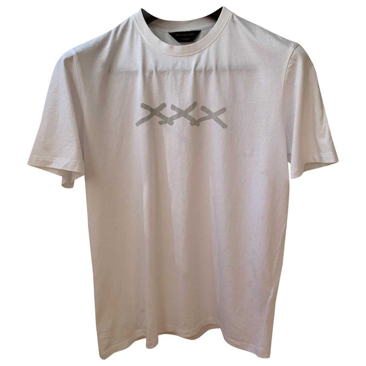 Ermenegildo Zegna \N T-Shirts in  Weiss Baumwolle