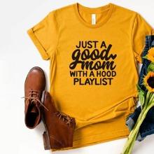 Ubergrosse T-Shirt mit Buchstaben Grafik und rundem Ausschnitt