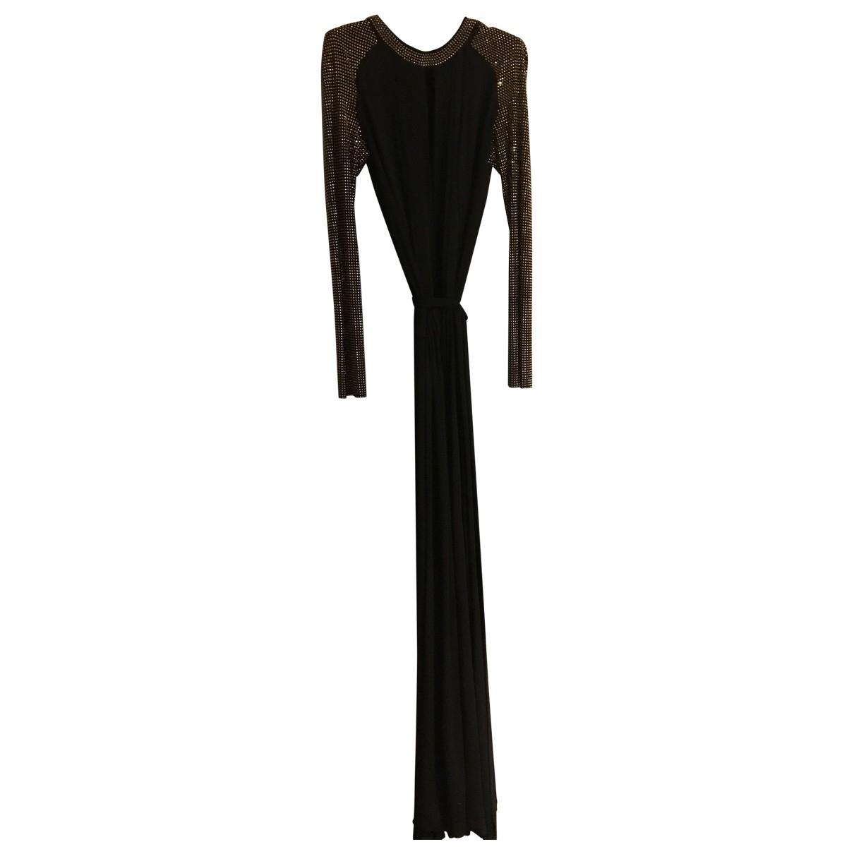 Just Cavalli \N Kleid in  Schwarz Polyester