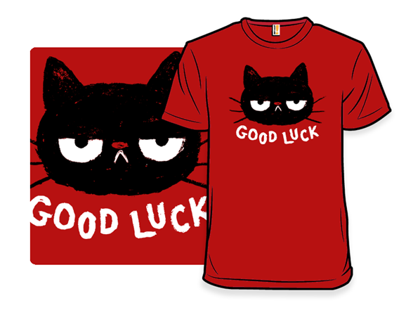 Good Luck Cat T Shirt