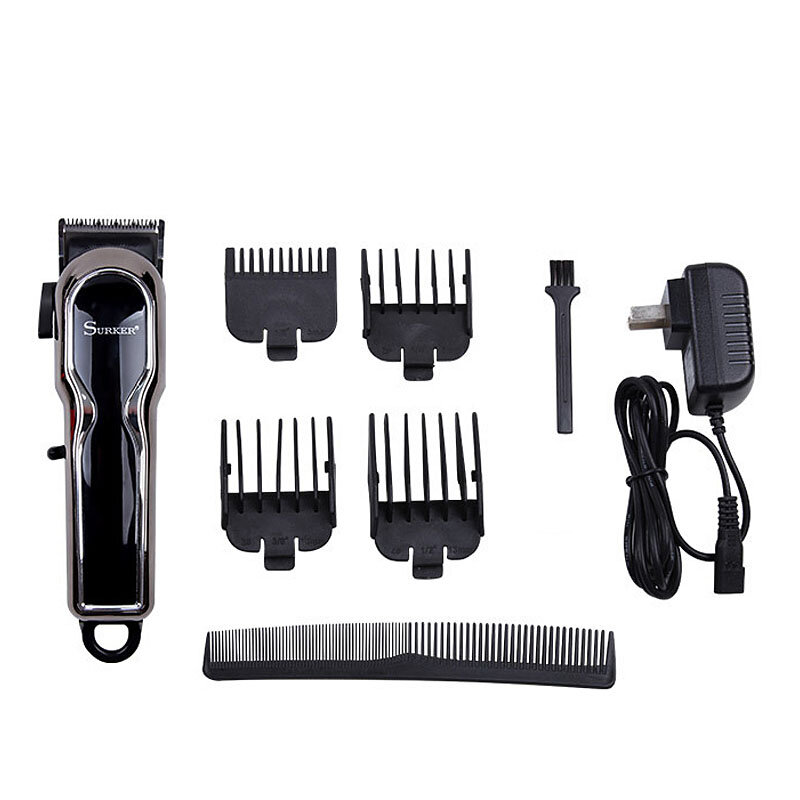 Electric Hair Trimmer LCD Digital Micro Adjustment Button Adult Children Universal Clipper