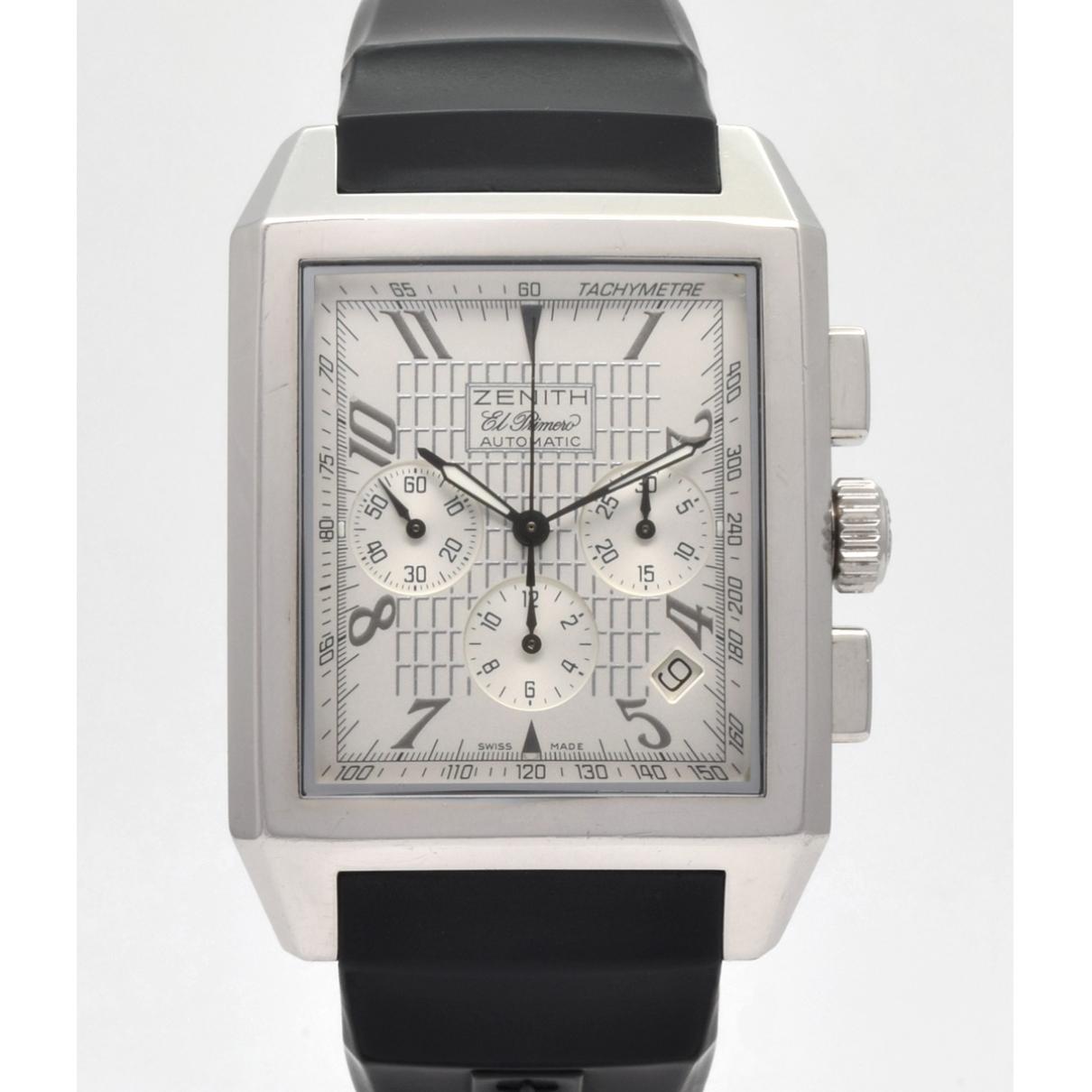Zenith Port Royal  Uhr in  Weiss Stahl