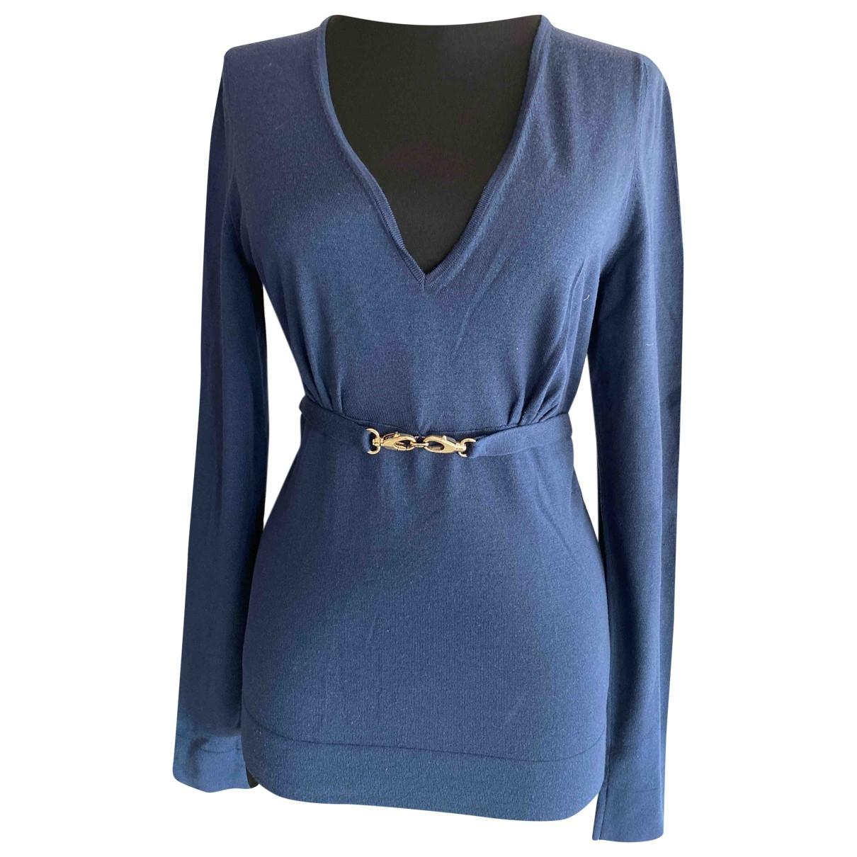 Gucci \N Blue Wool Knitwear for Women L International