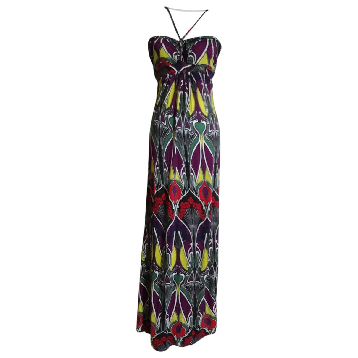 T-bags - Robe   pour femme en coton - elasthane - multicolore