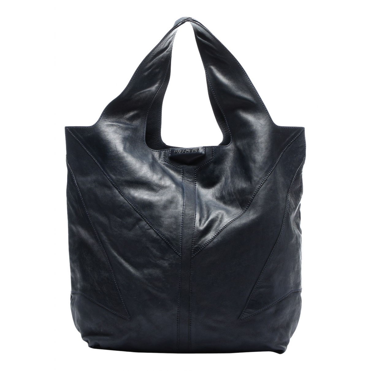 Givenchy \N Handtasche in  Marine Leder
