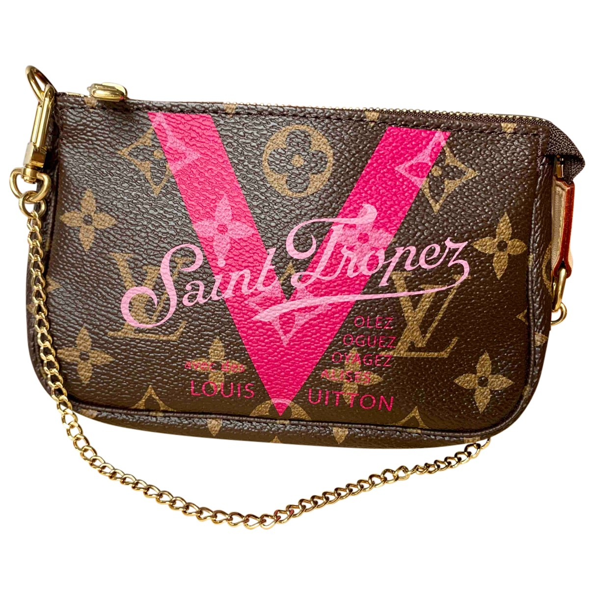 Bolsos clutch Pochette Accessoire en Algodon Louis Vuitton
