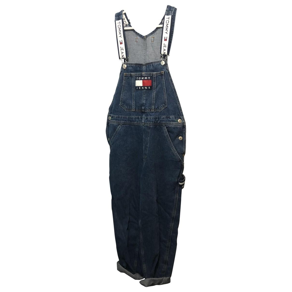 Tommy Jean - Combinaison   pour femme en coton - bleu