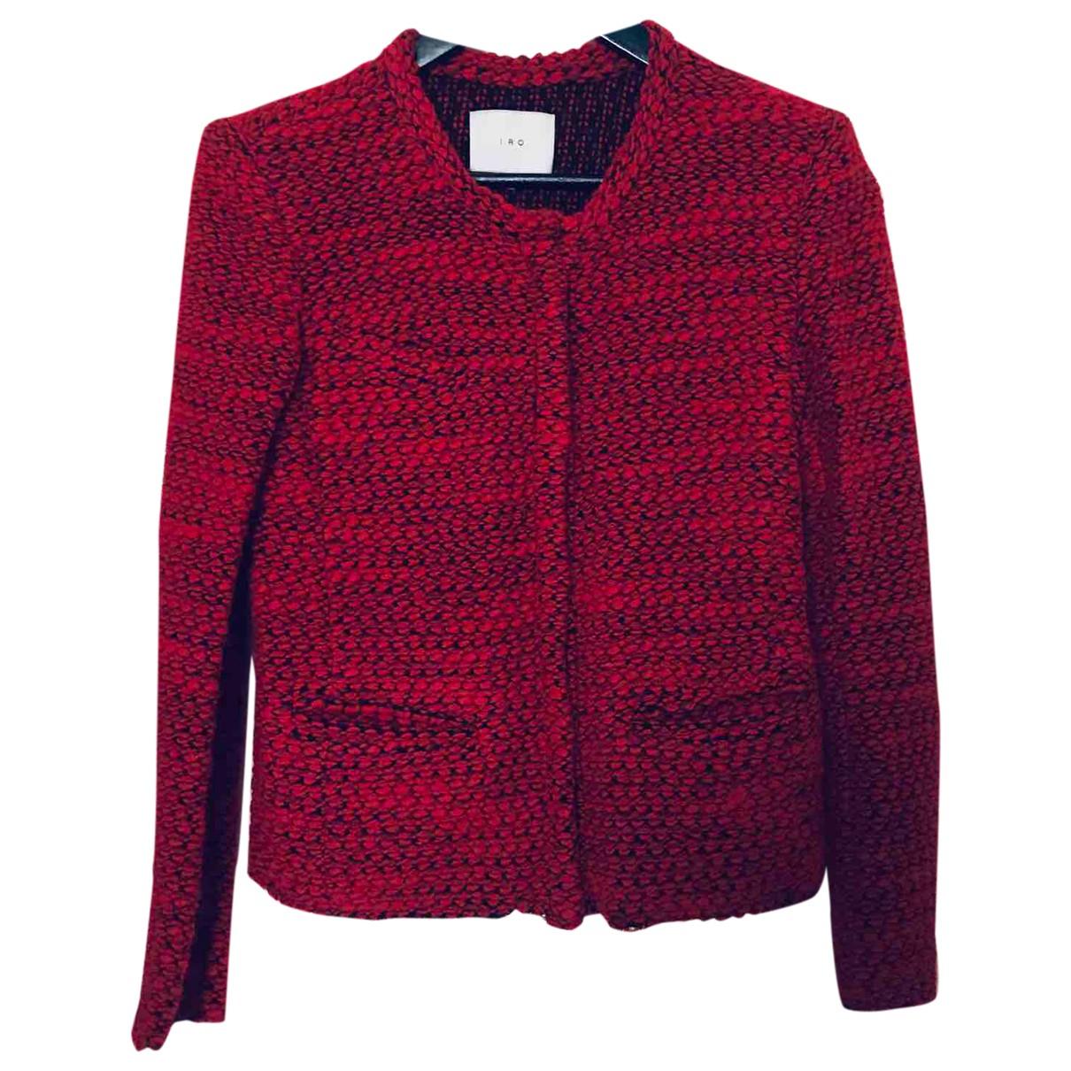 Iro Fall Winter 2019 Red Wool jacket for Women 36 FR