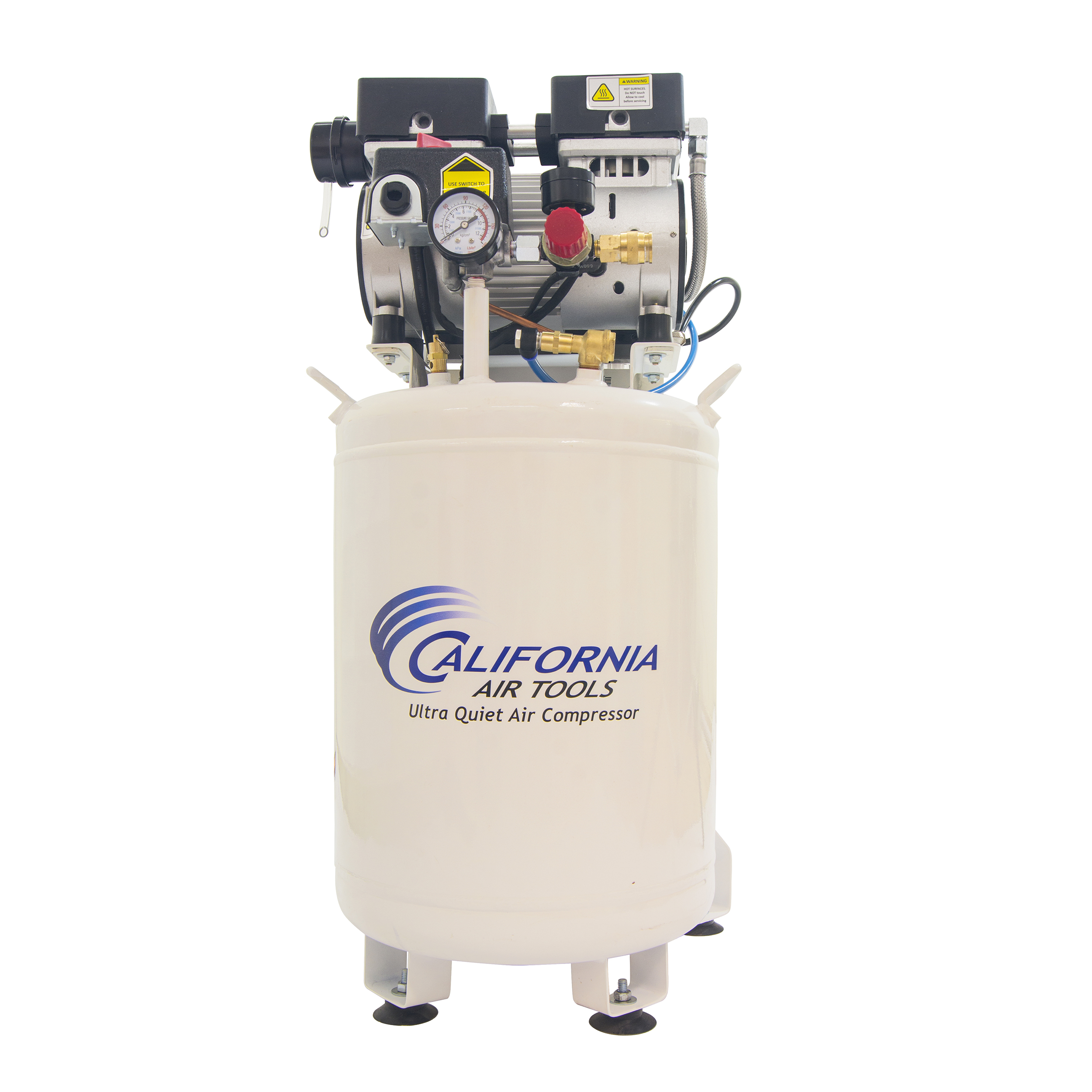 10010LFDCAD Ultra Quiet and Oil Free 1 HP 10 Gal. Air Compressor