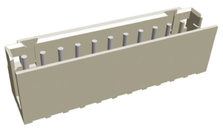 TE Connectivity , AMP CT, 11 Way, 1 Row, Straight PCB Header (10)