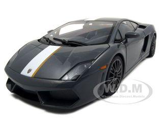 Lamborghini Gallardo LP550-2 Valentino Balboni Grey Grigio Telesto 1/18 Diecast Model Car by Autoart