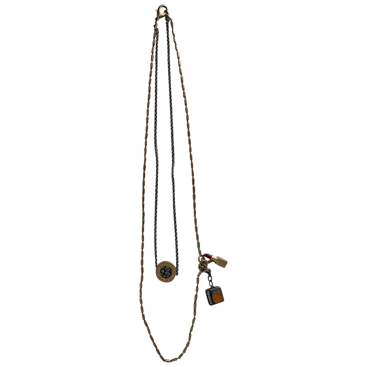 Ports 1961 - Collier   pour femme en metal - dore