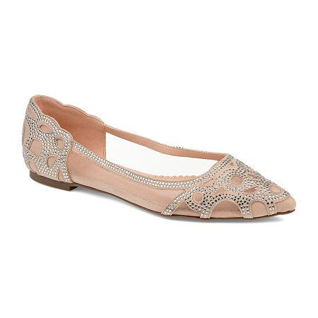 Journee Collection Womens Batavia Slip-On Shoe, 7 1/2 Medium, White