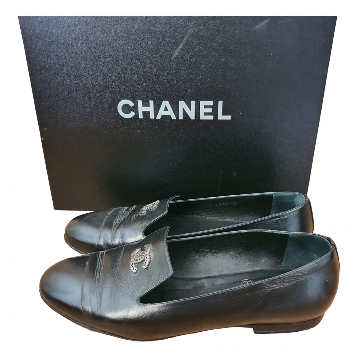 Mocasines de Cuero Chanel