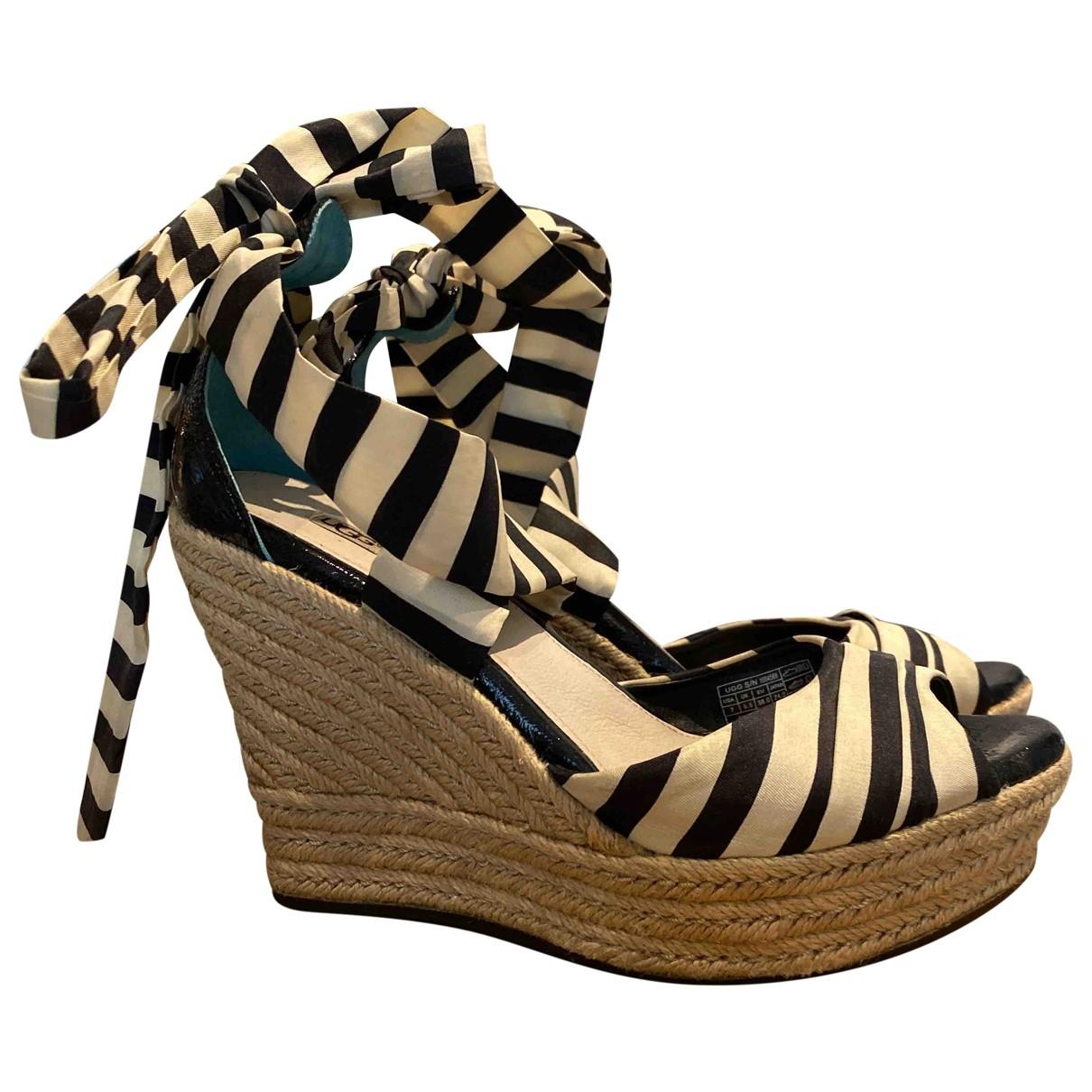 Sandalias de Lona Ugg