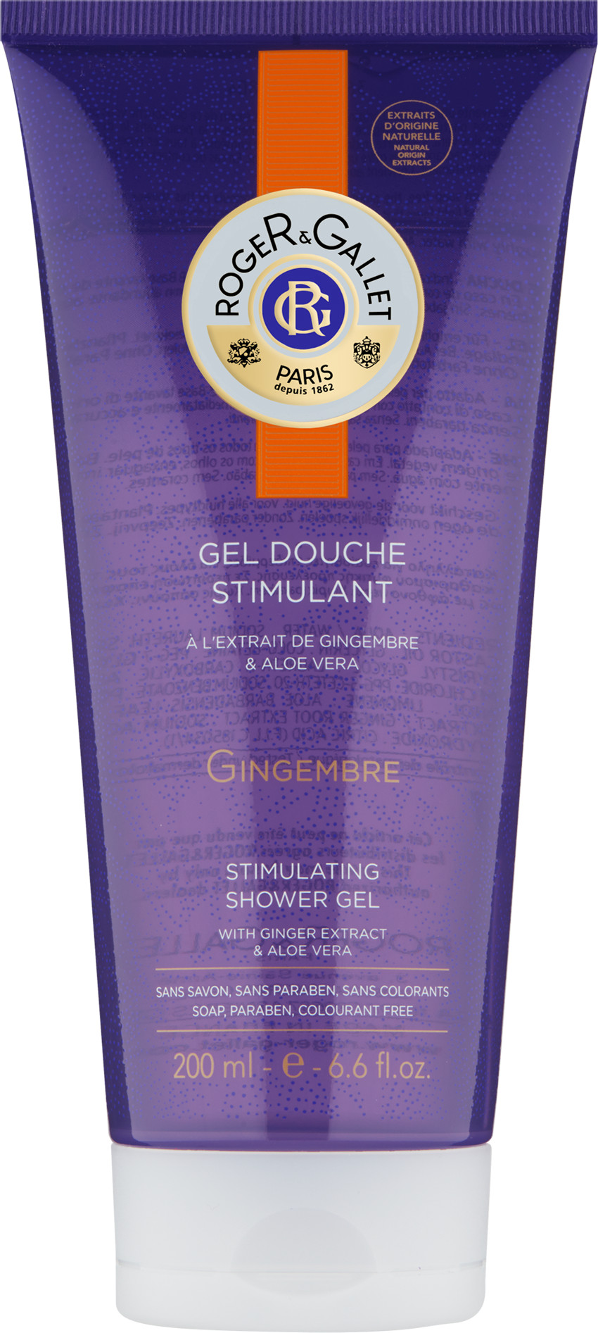 Gingembre (ginger) Shower Gel
