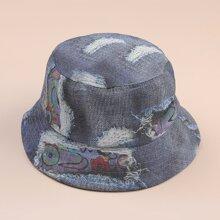 Eye Pattern Bucket Hat