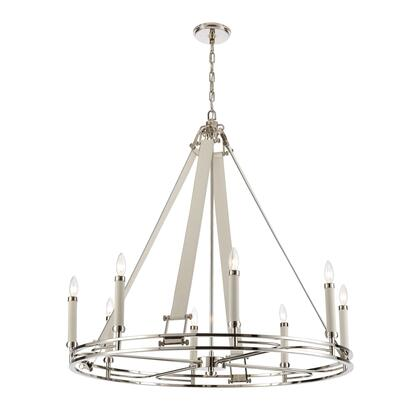 16353/8 Bergamo 8-Light Chandelier in Polished