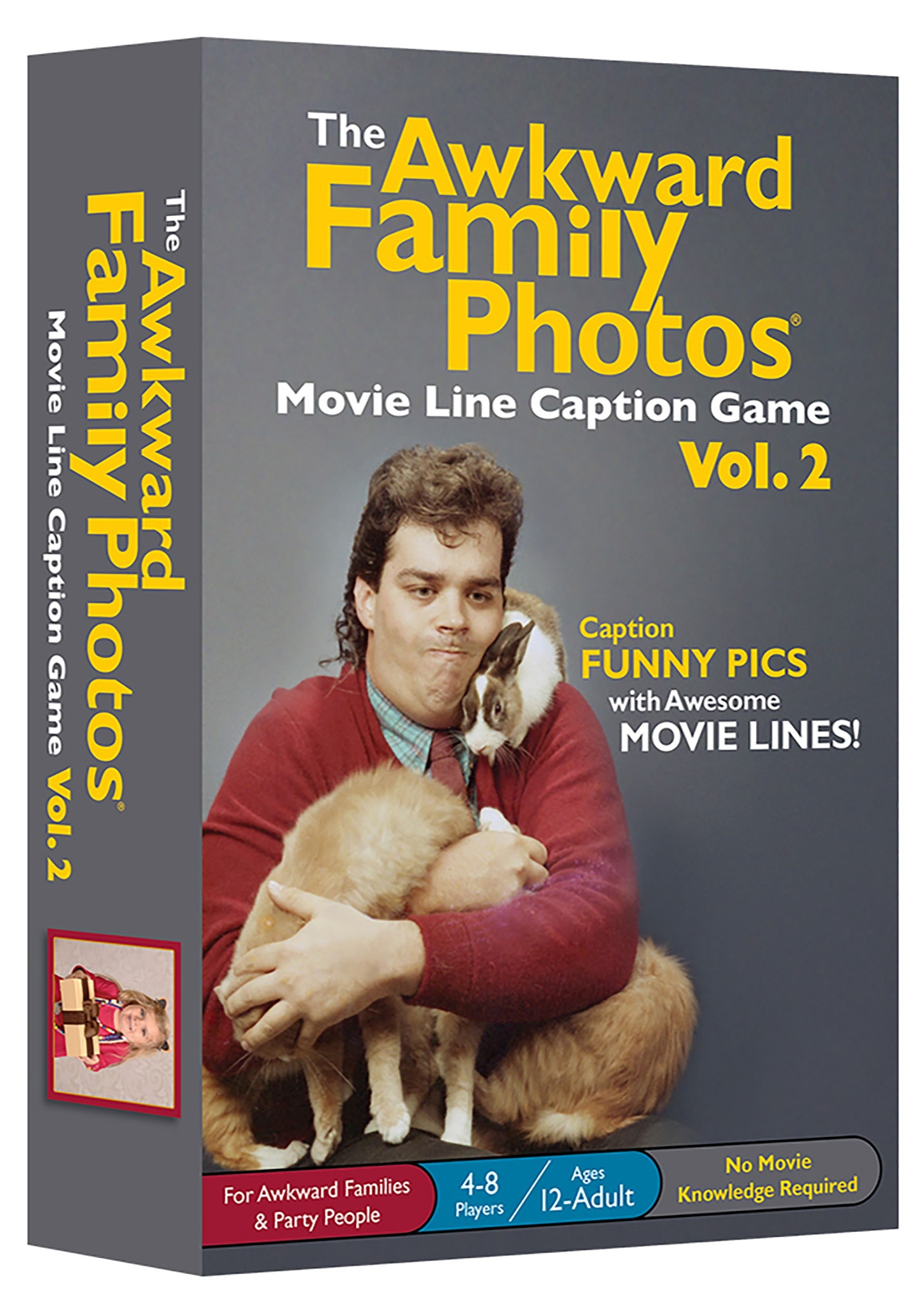 The Akward Family Photos Movie Line Captions Card Game