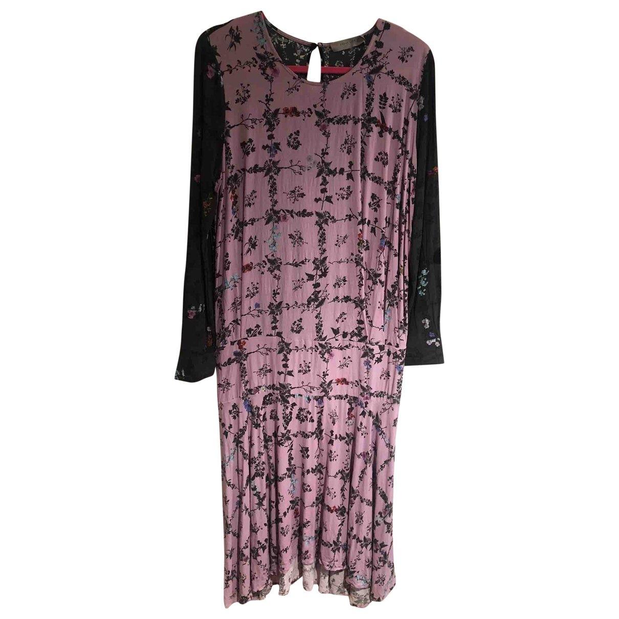 Preen \N Kleid in  Rosa Baumwolle
