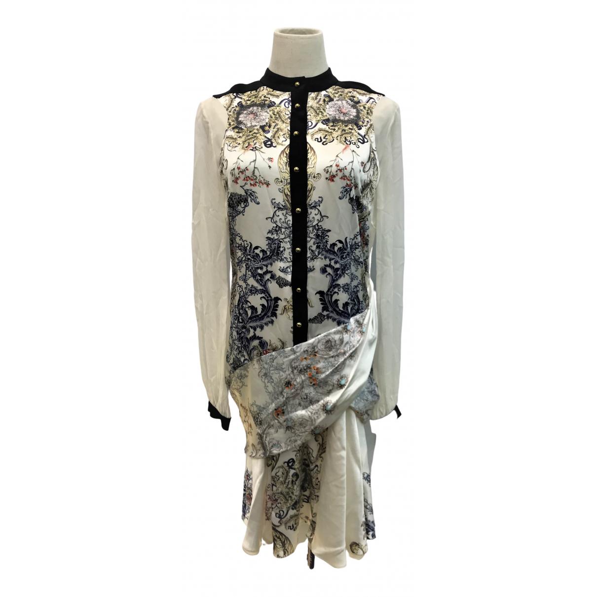 Prabal Gurung - Robe   pour femme en soie - blanc