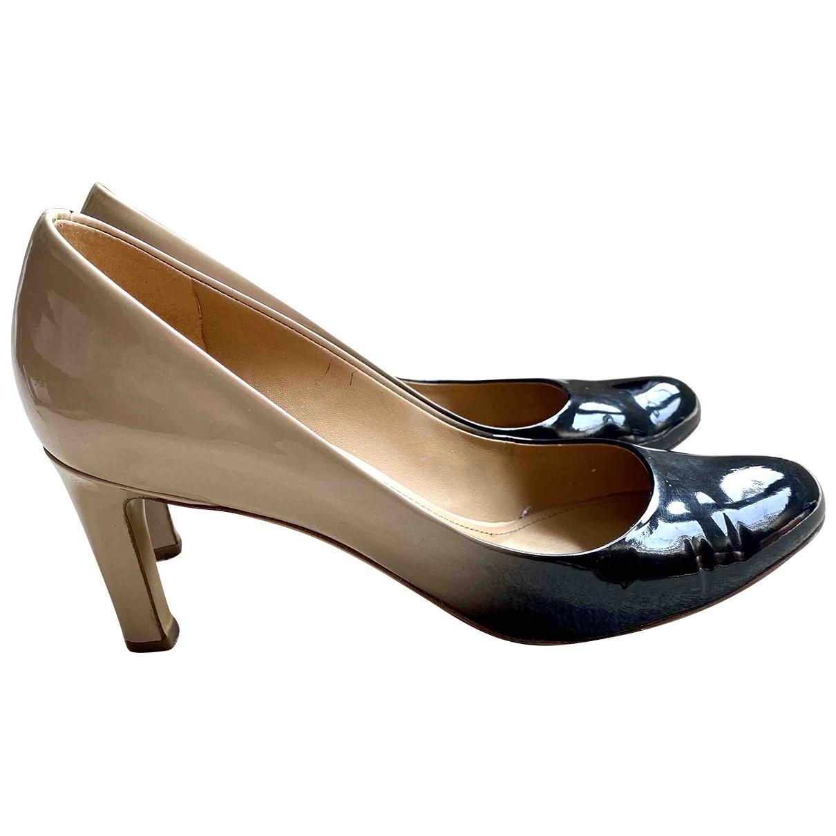 Salvatore Ferragamo \N Multicolour Patent leather Heels for Women 6.5 US