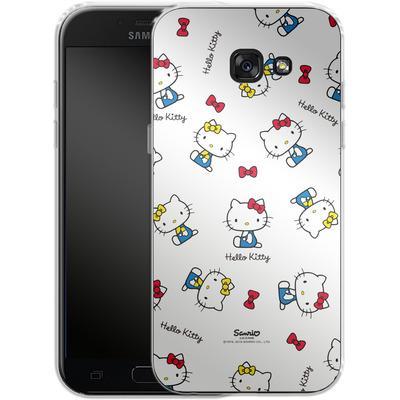 Samsung Galaxy A5 (2017) Silikon Handyhuelle - Hello Kitty and Mimmy Pattern von Hello Kitty