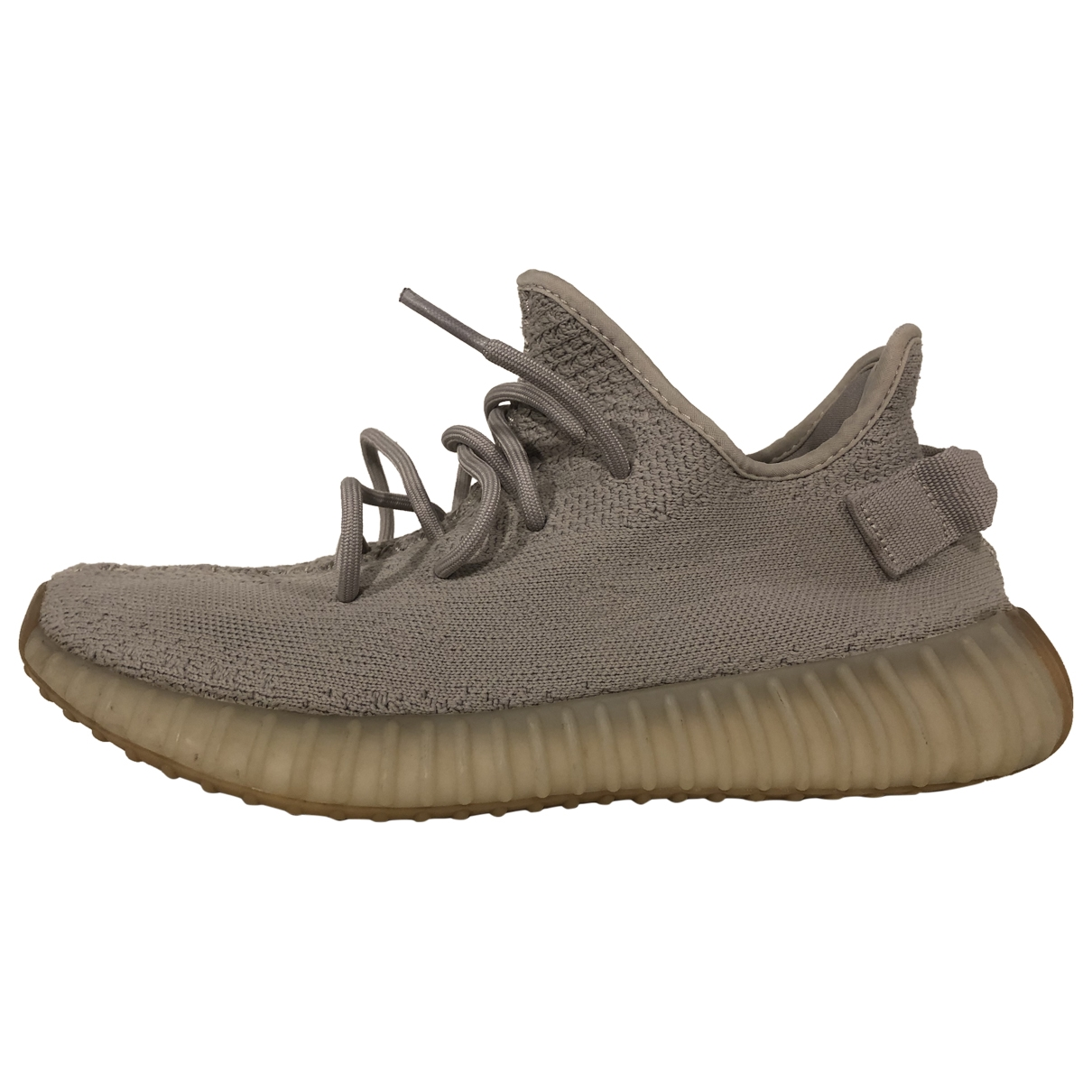 Yeezy X Adidas Boost 350 V2 Sneakers in  Beige Polyester