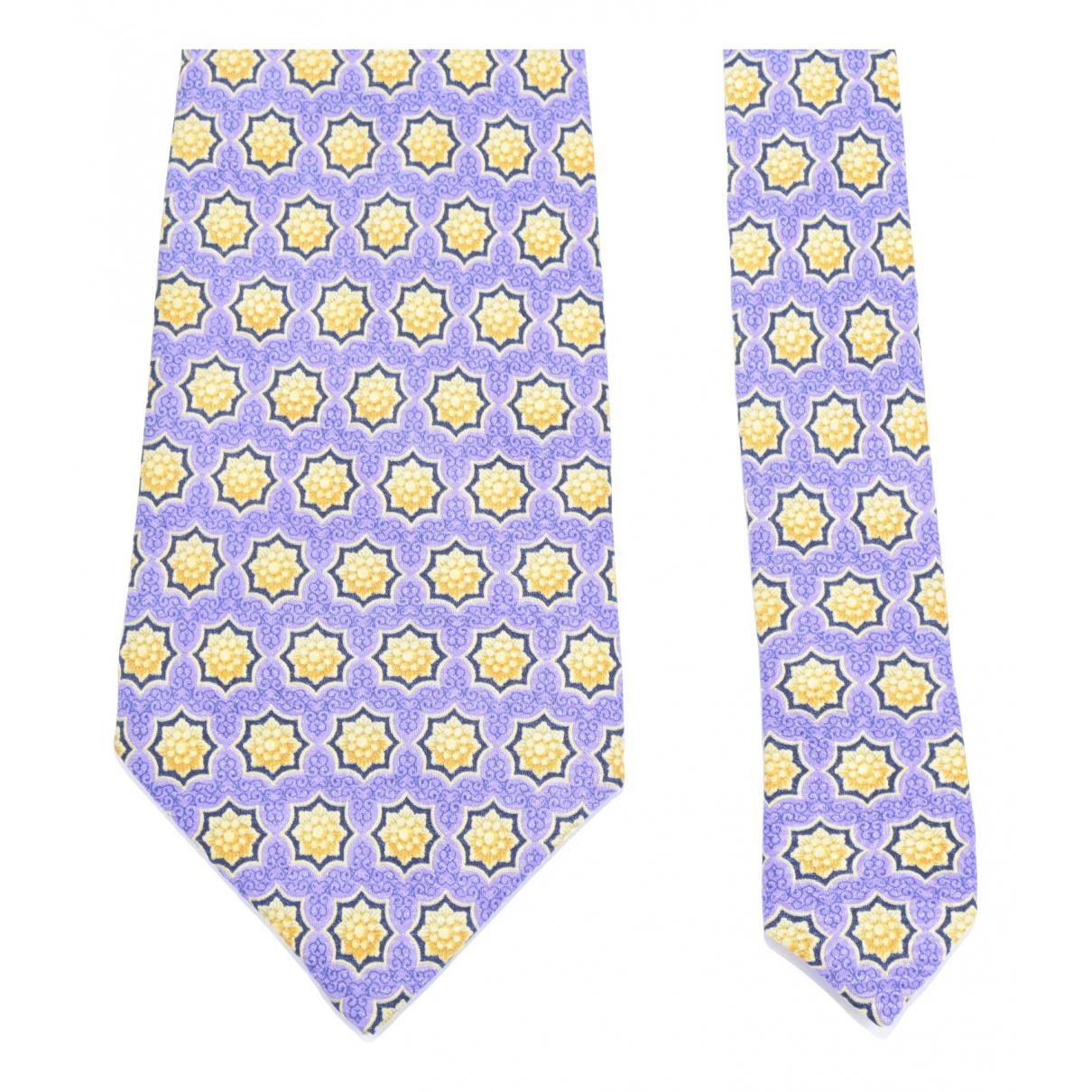 Gianni Versace - Cravates   pour homme en soie - violet