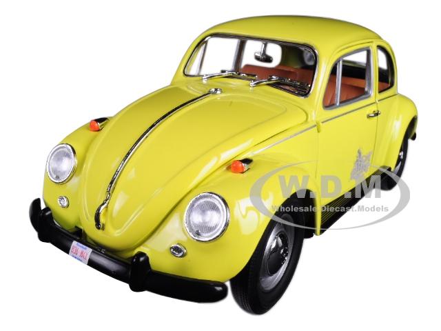 Emmas Volkswagen Beetle Yellow