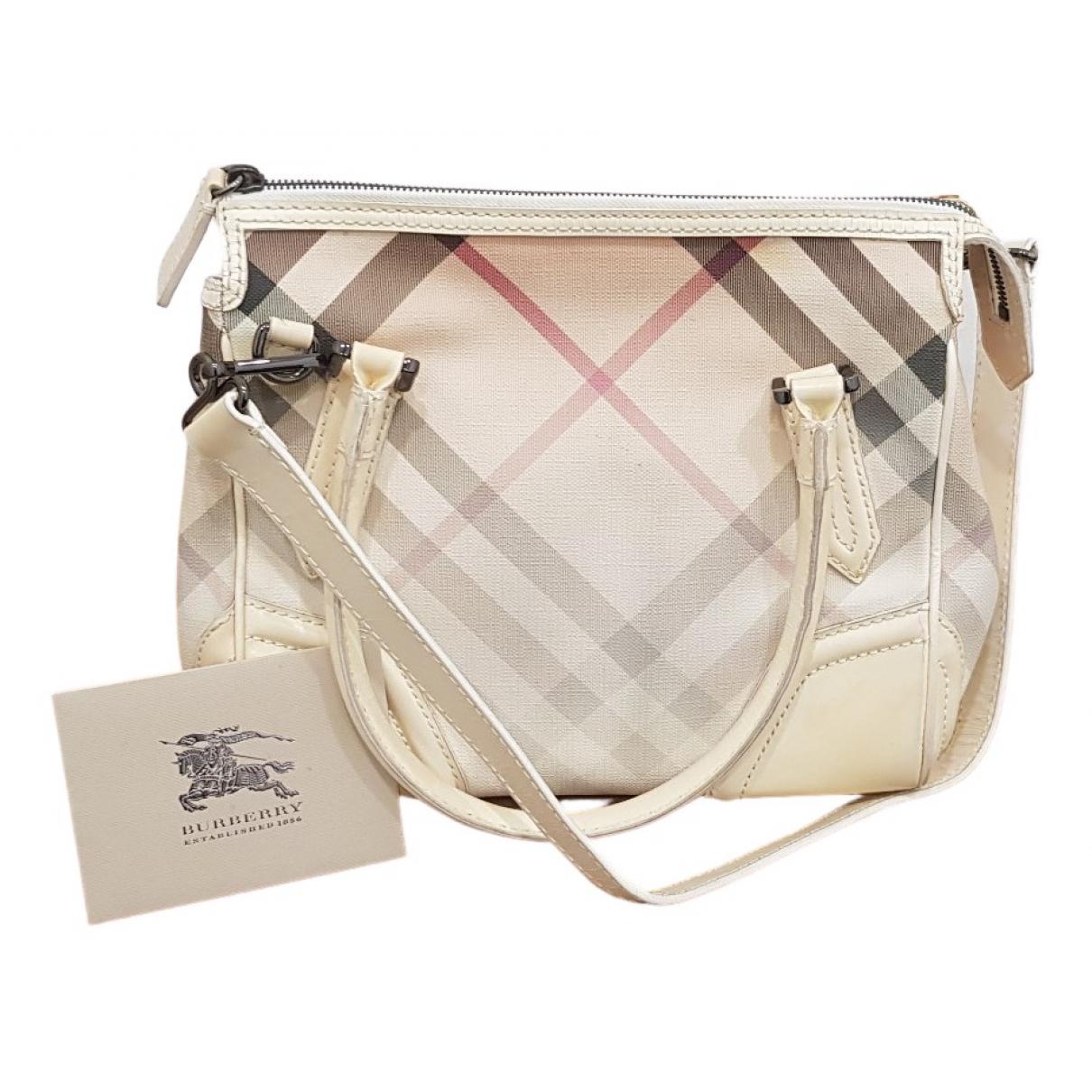 Burberry \N White Cloth handbag for Women \N