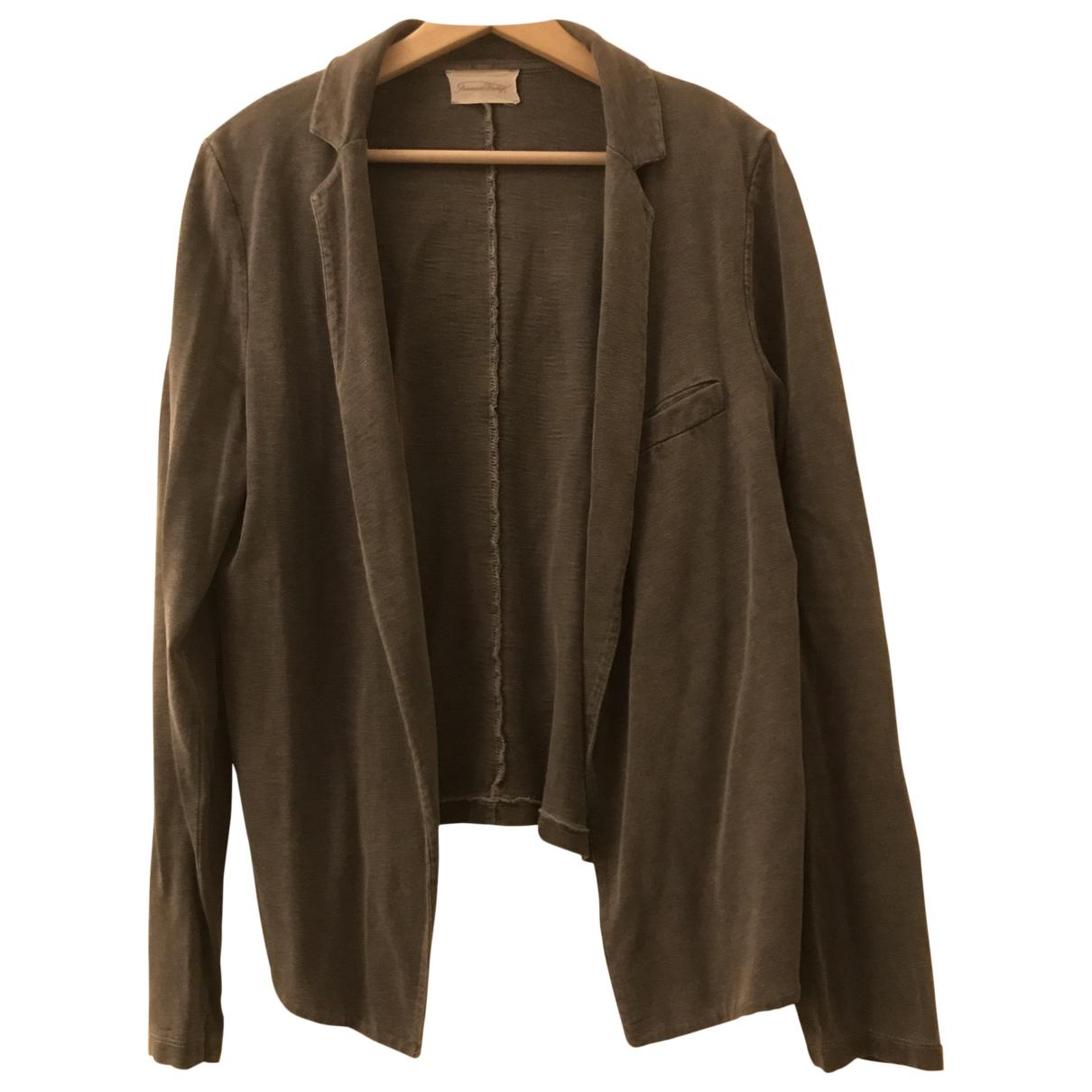 American Vintage - Veste   pour femme en coton - gris