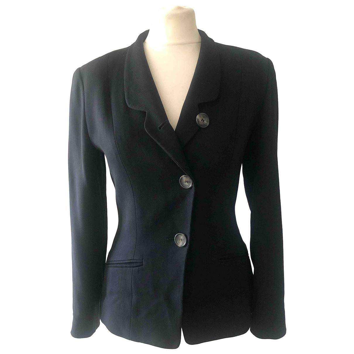 Kenzo \N Black Wool jacket for Women 36 FR