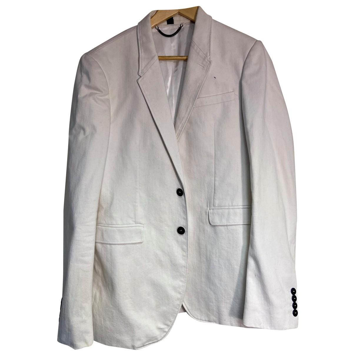 Burberry - Vestes.Blousons   pour homme en laine - blanc