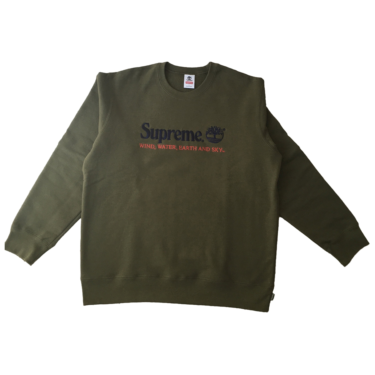 Supreme \N Khaki Cotton Knitwear & Sweatshirts for Men L International