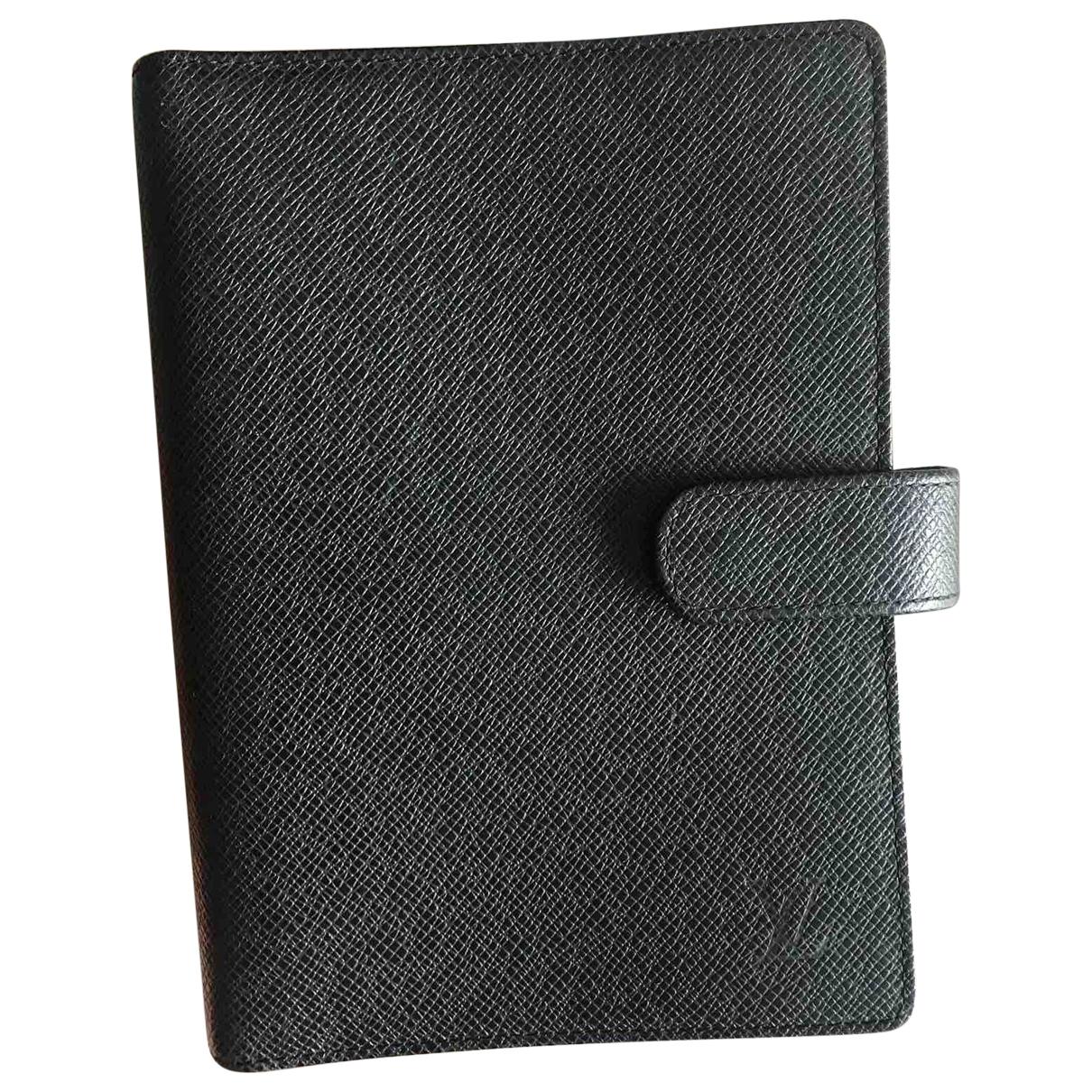 Louis Vuitton \N Accessoires und Dekoration in  Schwarz Leder