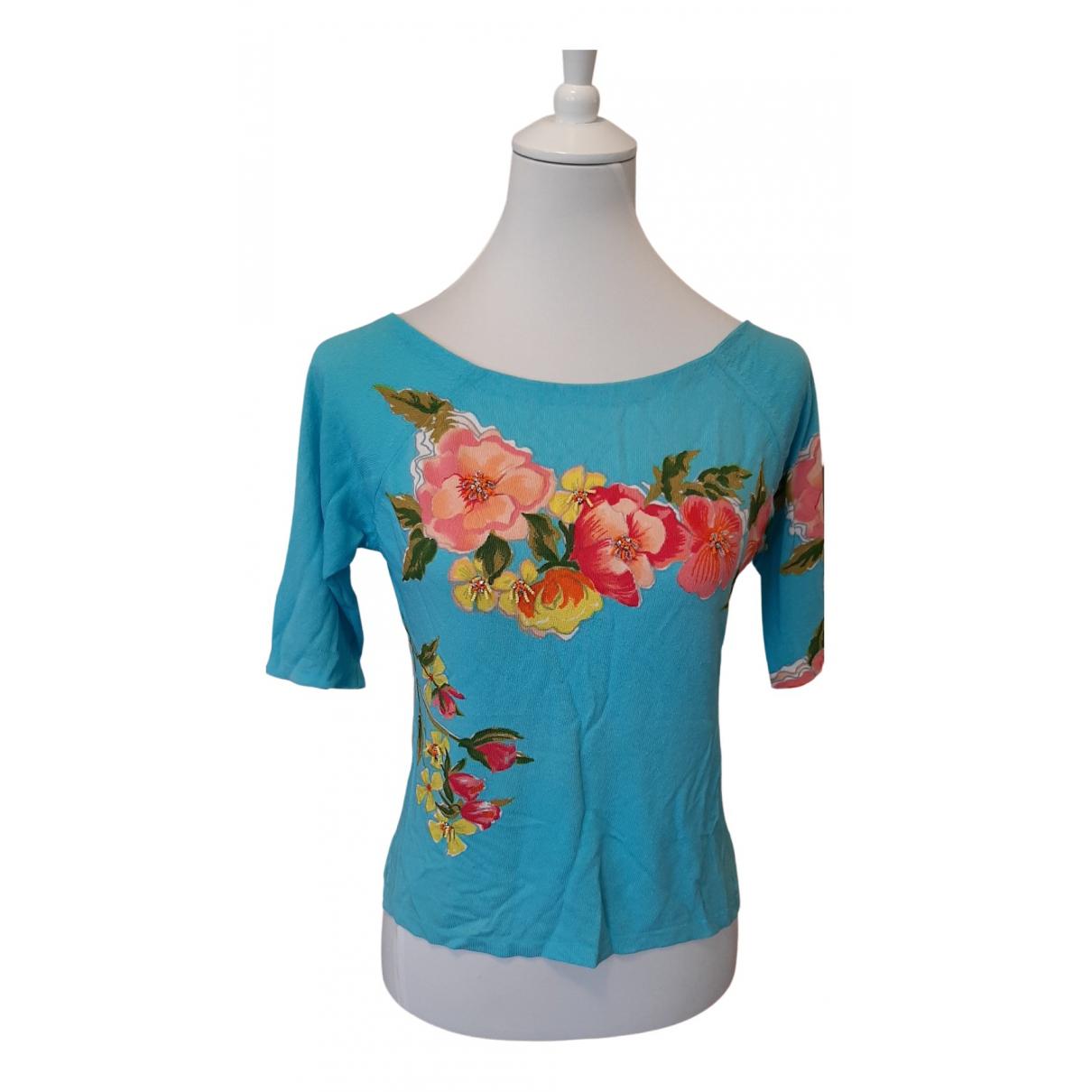 Blumarine N Blue Knitwear for Women 44 IT