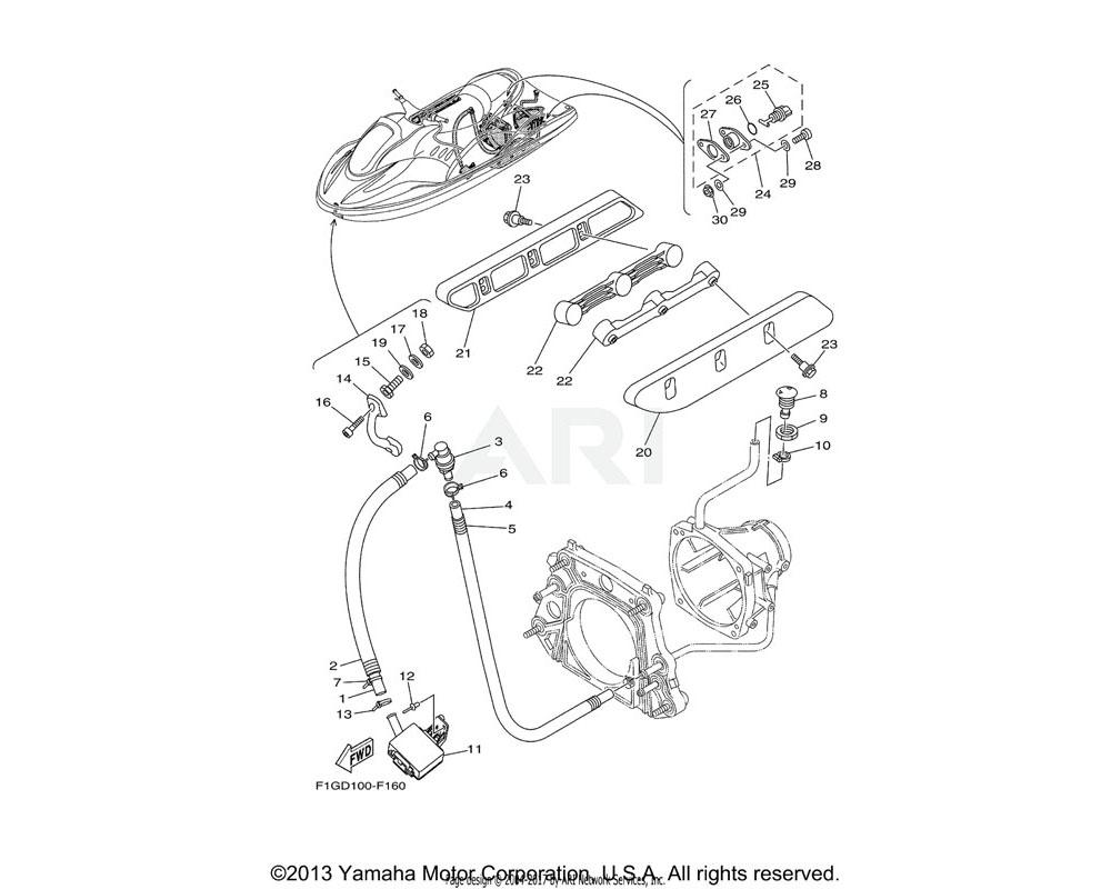 Yamaha OEM F0X-U883N-00-00 STABILIZER LH | BL