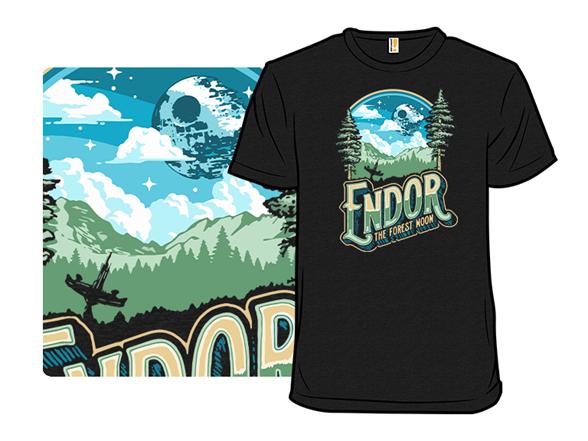 Endor The Forrest Moon T Shirt