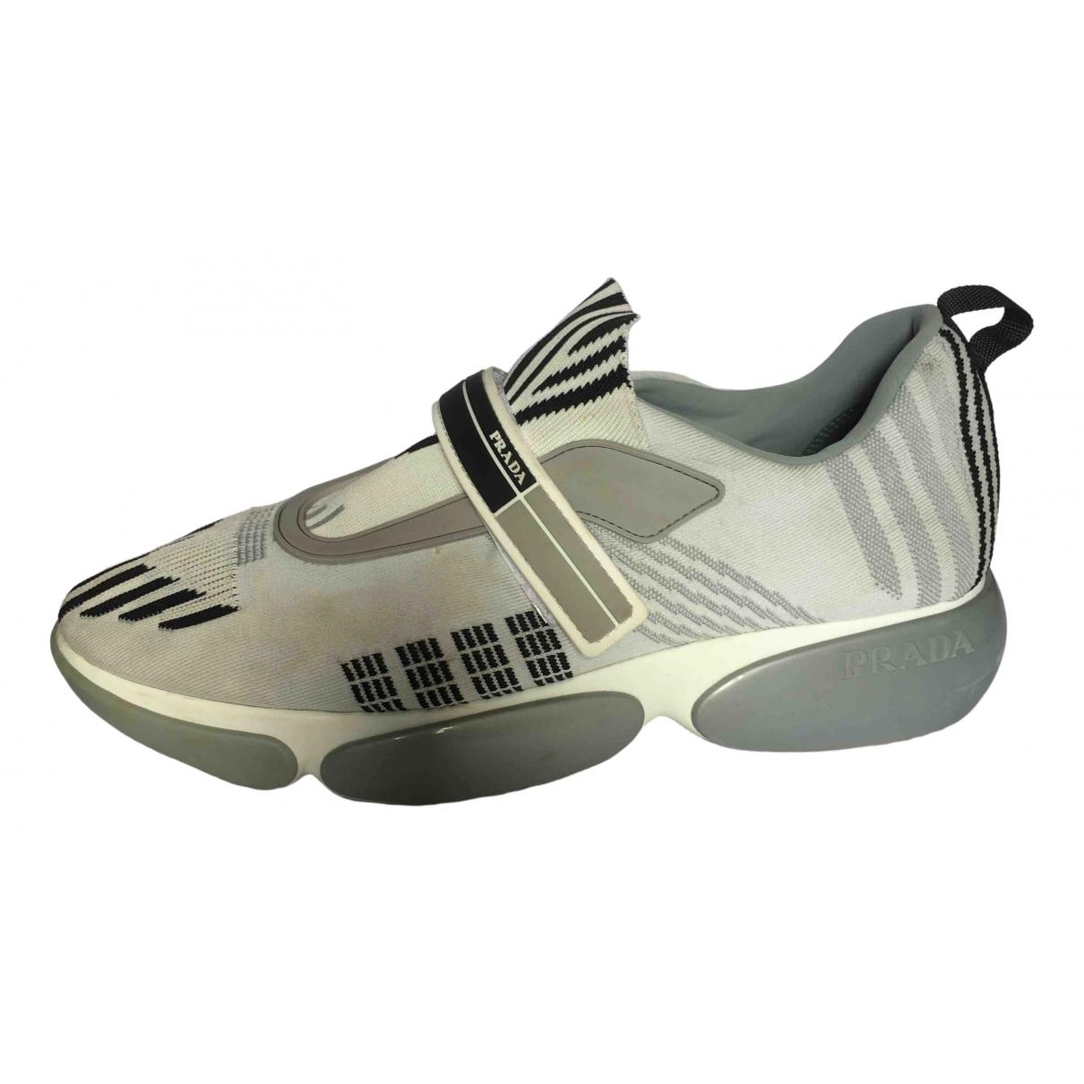 Prada Cloudbust Sneakers in  Grau Polyester