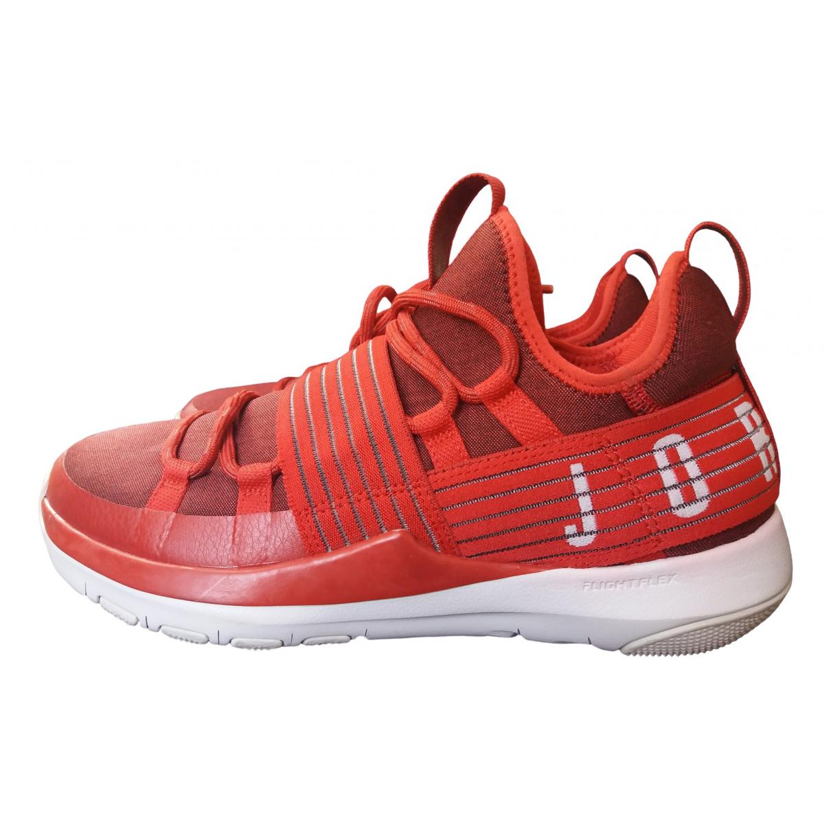 Jordan \N Red Trainers for Men 42.5 EU